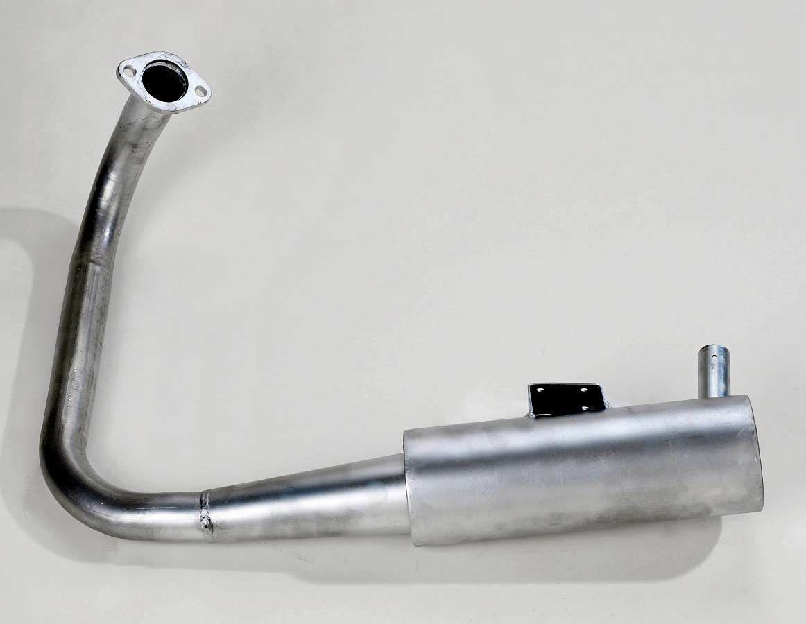 Lloyd 400 exhaust