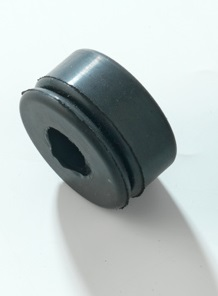 Rubber buffer for bumper